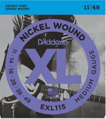 Daddario EXL115 Struny pro elektrickou kytaru