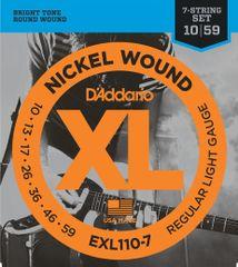 Daddario EXL110-7 Struny na sedemstrunovú elektrickú gitaru