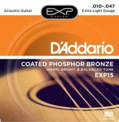 Daddario EXP15 Kovové struny pro akustickou kytaru
