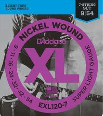 Daddario EXL120-7 Struny na sedemstrunovú elektrickú gitaru