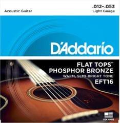 Daddario EFT16 Kovové struny na akustickú gitaru