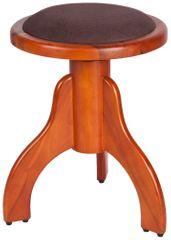 Stagg PS35 CHM VBR Otočná klavírní stolička