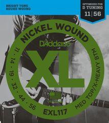 Daddario EXL117 Struny na elektrickú gitaru
