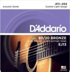 Daddario EJ13 Kovové struny na akustickú gitaru