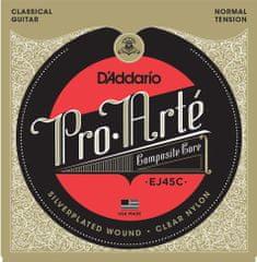 Daddario EJ45C Nylonové struny na klasickú gitaru