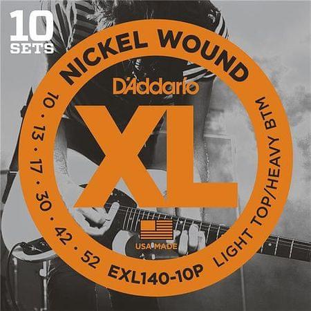 Daddario EXL140-10P Struny na elektrickú gitaru