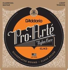 Daddario EJ43 Nylonové struny na klasickú gitaru