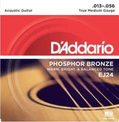 Daddario EJ24 Kovové struny na akustickú gitaru