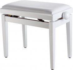 Soundsation SBH-100P-SWH Klavírní stolička