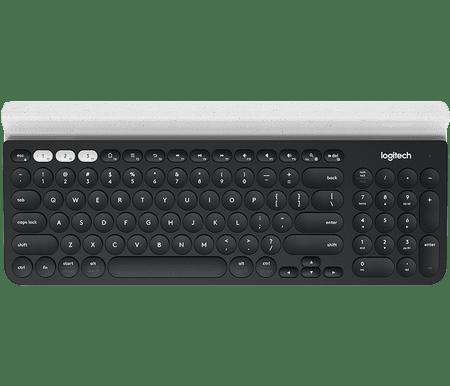 Logitech tipkovnica K780 Multi-Device, Wireless, siva, SLO g