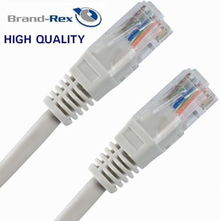 Brand-Rex mrežni kabel UTP CAT.6 Patch, 1,5 m, siv