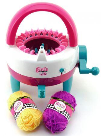Teddies Girl's Creator pletilni stroj