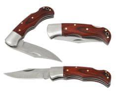 džepni nož pipec, drvena drška