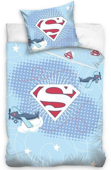 Carbotex Obliečky do postieľky Little Superman