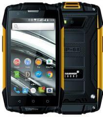 myPhone Hammer Iron 2, 1GB/8GB, pomarańczowy