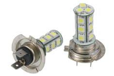 M-LINE žarnica LED 12V H7 18xSMD CANBUS, bela, par