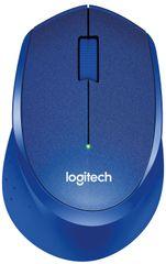 Logitech miš M330 Silent Plus, plavi