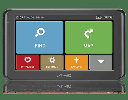 MIO SPIRIT 8500 LM FEU 6,2'' Autós navigáció