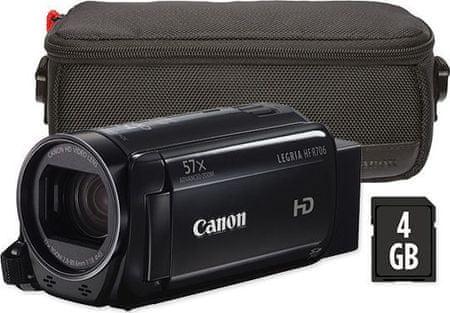 Canon LEGRIA HF R706 Essential Kit Black