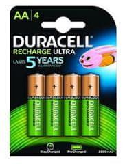 Duracell baterije za punjenje HR06-P AA 2500 mAh NiMH, 4 komada