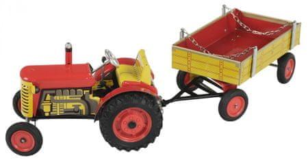KOVAP Traktor Zetor s valníkem červený