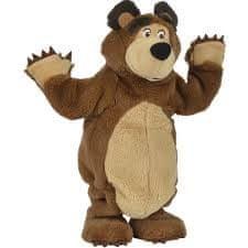 Simba Máša a medvěd Plyšový tančící medvěd 35 cm - rozbaleno