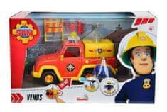 Simba Požárník Sam - Hasičské auto Venuše 19 cm s figurkou