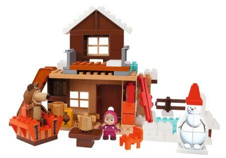BIG Klocki Masza zimowy dom Niedźwiedzia