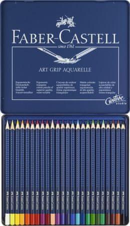 Faber Castell GRIP barvice Aqua 24/1 kov.