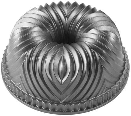Nordic Ware Forma na bábovku Bavaria, stříbrná