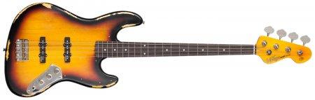 Vintage V74 MRJP Elektrická bezpražcová baskytara