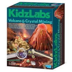 4M set Iskopavanje kristala i vulkana