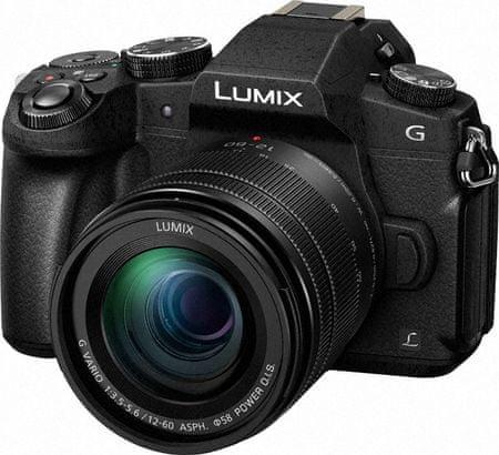 Panasonic digitalni brezzrcalni fotoaparat Lumix DMC-G80 + 12-60
