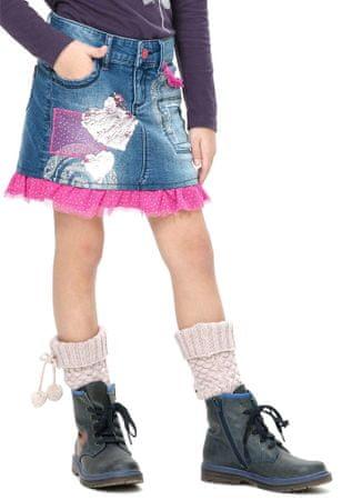 Desigual lány szoknya 116 kék