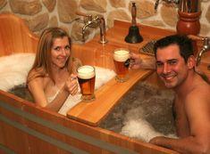 Allegria pivní koupel s masáží pro dva Praha 2
