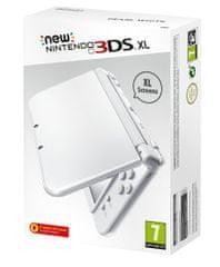 Nintendo igralna konzola New 3DS XL, biserno bela