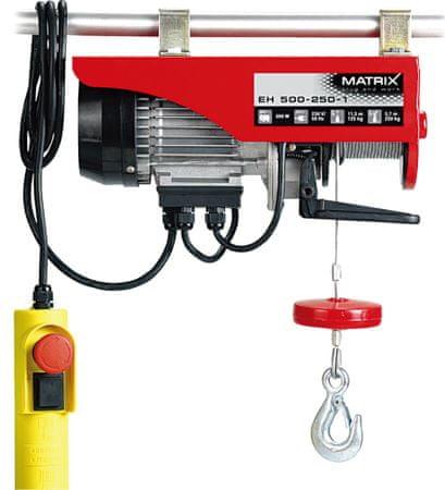Matrix EH 500-250-1 Elektromos csörlő