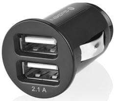 GoGEN autonabíječka CH 21, 2 x USB port, 2,1 A + 1 A, černá