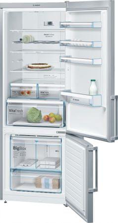 BOSCH KGN56XI40 Szabadonálló kombinált hűtő
