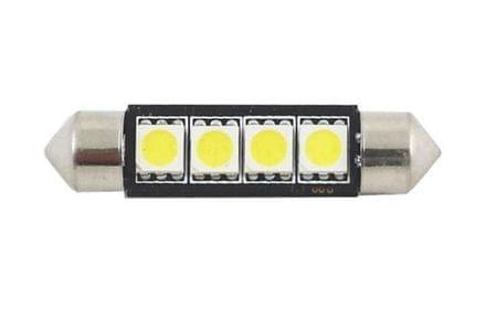 M-LINE žarnica LED 12V C5W 42mm 4xSMD 5050, bela, par
