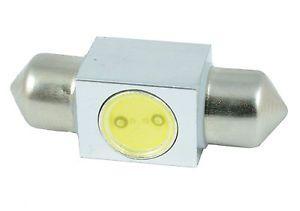 M-LINE žarnica LED 12V C5W 31 mm 3 chip 1W CREE LED, 180°, alu-ohišje, bela, par