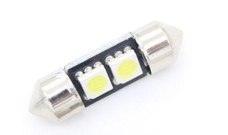 M-LINE žarnica LED 12V C5W 31mm 2xSMD 5050 CANBUS, bela, par