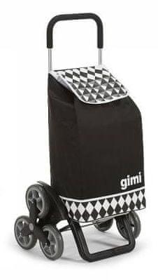 Gimi Tris 56 l Optical černá nákupní taška