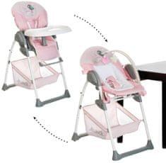 Hauck Sit'n Relax jedálenská stolička 2v1