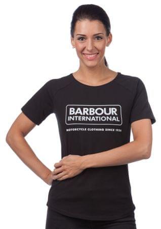 Barbour női póló L fekete