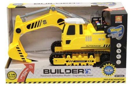 Unikatoy delovno vozilo kopač goseničar, 30 cm