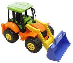 Adriatic barvni traktor s kiblo, 40 cm