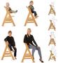 6 - Hauck stol za hranjenje Alpha+ 2020, Natur