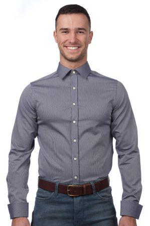 Gant pánská košile 40 modrá