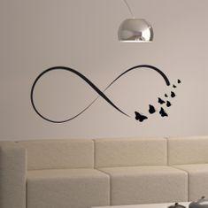 Crearreda zidna naljepnica Infinity, XL, flat